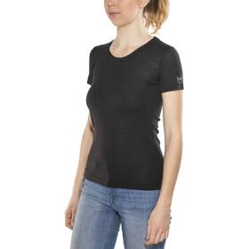 super.natural Scarlett Rib SS Shirt Women, caviar
